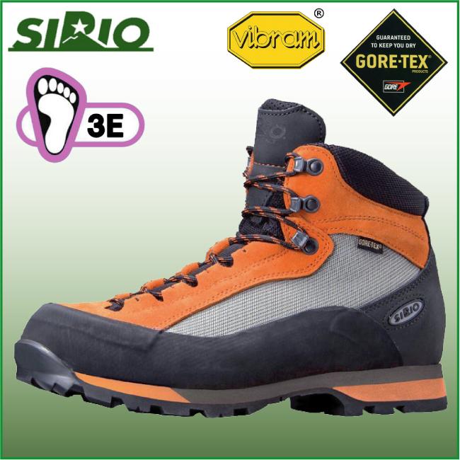 シリオ 登山靴 41A ライトトレック【SIRIO】トレッキング シューズ ブーツ アウトドアシューズ ハイキング 登山 幅広 防水 ゴアテックス GTX