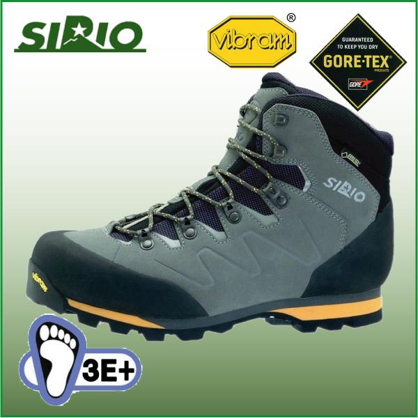 シリオ 登山靴 PF330 ライトトレック【SIRIO】トレッキング シューズ ブーツ アウトドアシューズ ハイキング 登山 幅広 防水 ゴアテックス GTX