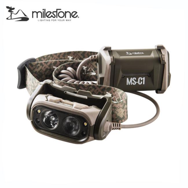マイルストーン MS-C1 プロフェッショナル ヘッドランプ【MILESTONE】ヘッドランプ ヘッドライト
