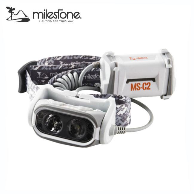 マイルストーン MS-C2 プロセンサー ヘッドランプ【MILESTONE】ヘッドランプ ヘッドライト