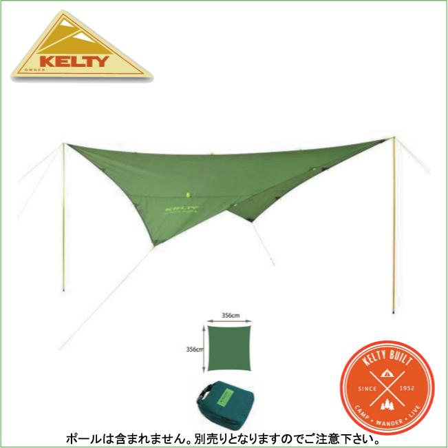 ケルティ 4082021612-ノアーズタープ12 グリーン【KELTY】キャンプテント ウイングタープ タープテント 登山用品 キャンプ用品