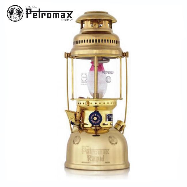 ペトロマックス HK500B-灯油ランタン(ブラス)【PETROMAX】キャンプ用品 灯油ランタン ランプ ポイント