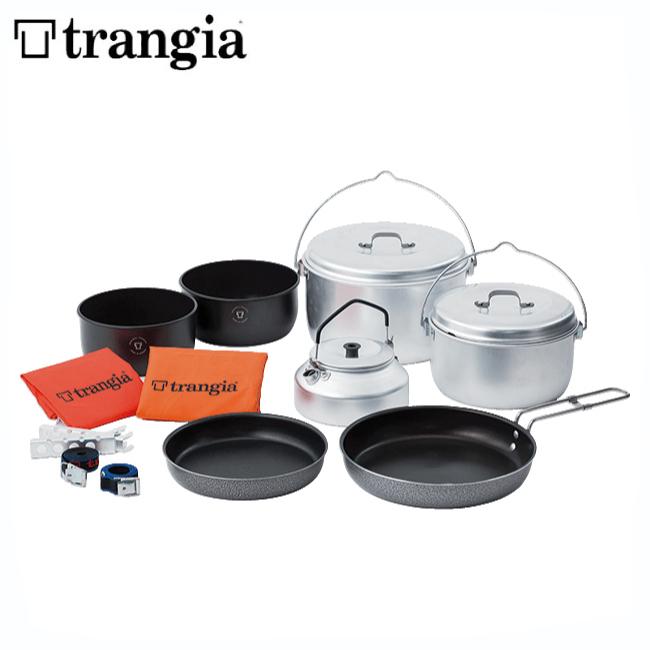 トランギア TR400290-パーティ【TRANGIA】クッカー キャンプ鍋セット コッヘル