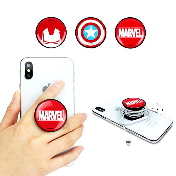 マーベル MARVEL スマホリング スマホリング バンカーリング スマホ 落下防止 マーベル MAVEL キャプテンアメリカ アイアンマン マーベル ロゴ スマホ ホールドリングスマホリング アイリング iPhone アンドロイド グリップスタンド