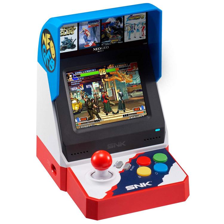 予約8月7日 ネオジオミニ ネオジオ mini neogeo mini SNK ザ・キング・オブ・ファイターズ 餓狼伝説 メタルスラッグ アーケードゲーム