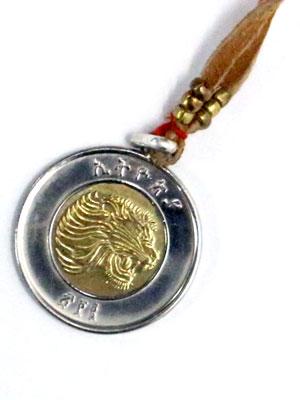 ペイバック PAYBACK エチオピアコイントップ エチオピアコイン ネックレス ETHIOPIA COIN TOP 1 BIRR COIN NECKLACE -BROWN-