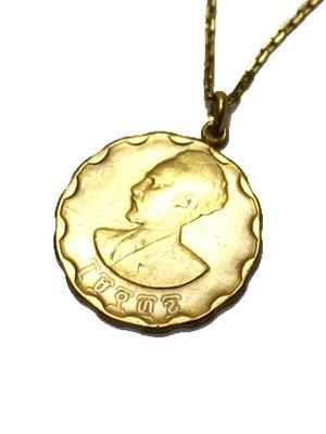 ペイバック PAYBACK エチオピア ゴールド コイン ネックレス ETHIOPIA 10 GOLD COIN NECKLACE