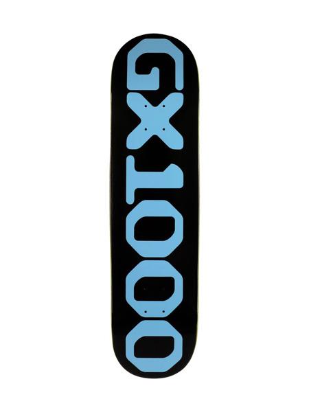 ジーエックスセン GX1000 オージー デッキ スケートボード OG DECK -BLACK- -8.25inch- ブラック/黒
