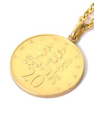 1万円以上で送料無料 ジャマイカ コイン ネックレス トップ チェーン レゲエ アクセサリー メンズ 送料無料お手入れ要らず レディース 20C 新色追加して再販 プレゼント ペイバック GOLD COIN JAMAICA PAYBACK グッズ NECKLACE ゴールドコイン