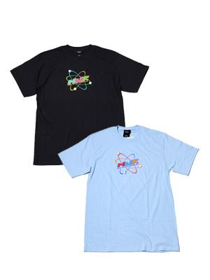 1万円以上で送料無料 Tシャツ ショートスリーブ カットソー 半袖 メンズ レディース 男女兼用 サンフランシスコ ロサンゼルス ニューヨーク スケート ハフ HUF ライトブルー TEE 人気 CHEMISTRY Tシャツ M-XLサイズ -2.COLOR- 10%OFF _FAIR_e 黒 ケミストリー ブラック SS