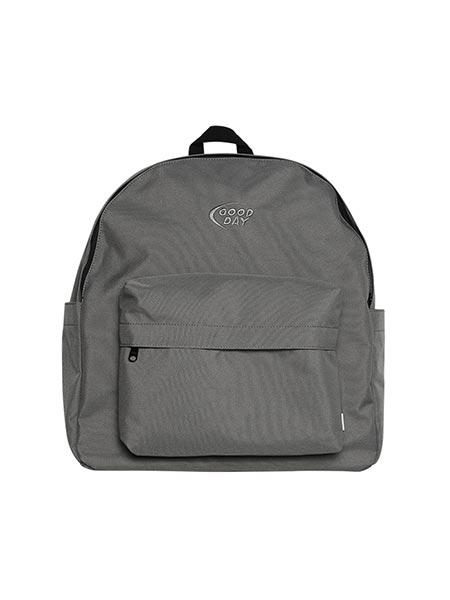 1万円以上で送料無料 ナイロンリュック グレー ポーチ付き バッグ シンプル グッデイ DELIVERY GOOD DAY BAG GDY 市場 マーケティング -GREY-