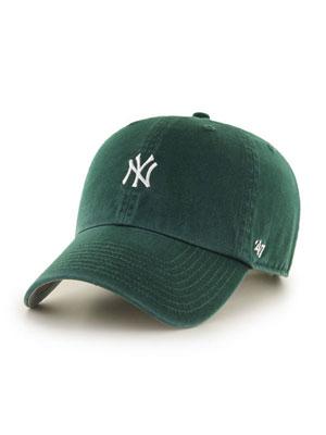 1万円以上で送料無料 帽子 キャップ ハット ヘッドウェア MLB メンズ 送料無料 レディース ユニセックス フォーティーセブン 47 GREEN- UP ダークグリーン -DARK '47 RUNNER CLEAN BASE ベースボール ヤンキース YANKEES 超激得SALE