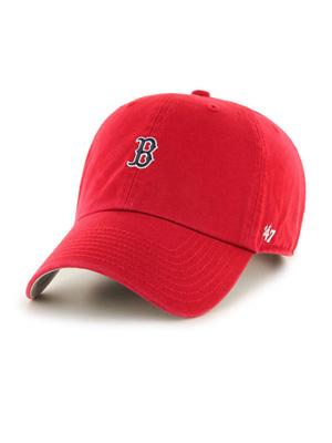 1万円以上で送料無料 帽子 キャップ ハット ヘッドウェア MLB メンズ レディース ユニセックス フォーティセブン 47 UP 宅送 BASE RUNNER RED フリーサイズ 販売実績No.1 CLEAN SOX レッド '47 -RED-