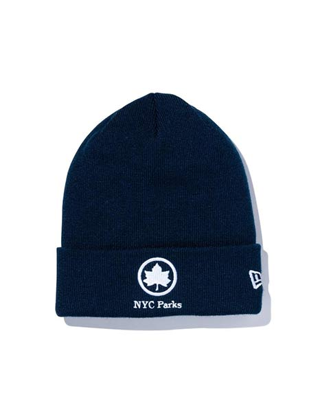 1万円以上で送料無料 NEW ERA 送料無料お手入れ要らず ニューエラ 低価格化 帽子 ニットキャップ ストリートブランド ネイビー 紺色 NYC ニューヨーク PARIS BC LOGO ビーニー KNIT -NAVY-