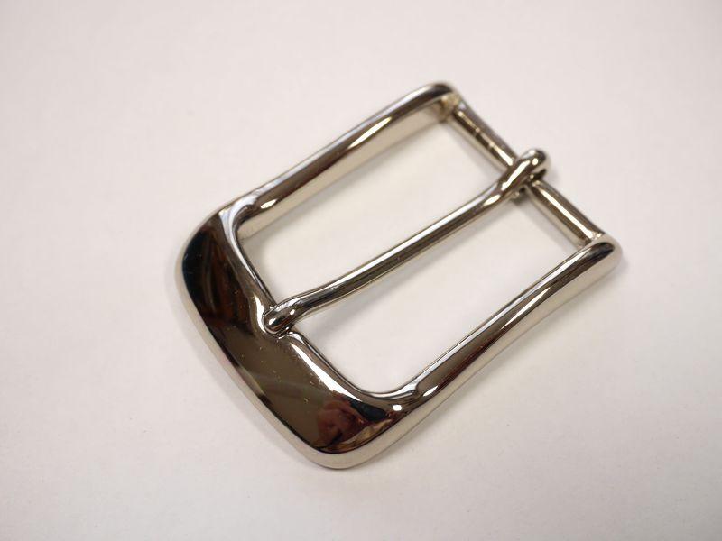 安心 高品質の日本製 ベルト幅30mm用 バックル 期間限定の激安セール シルバー メーカー在庫限り品 真鍮製 馬具職人工房 ブラス