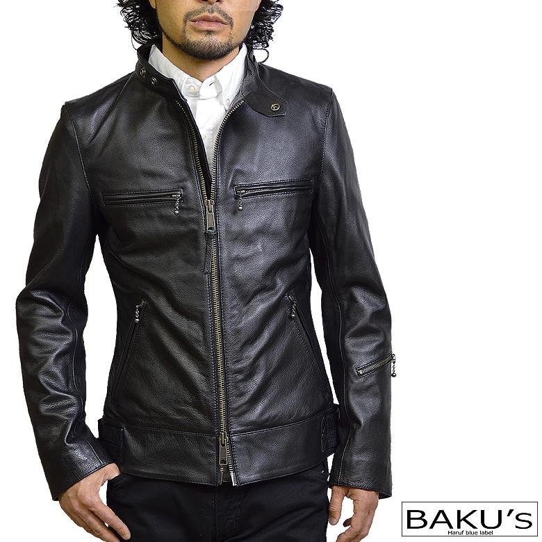 レザージャケット メンズ 本革 レザージャケット シングルライダース 革ジャン 黒 ブラックレザー S M L LL 3L tqpuk3bk