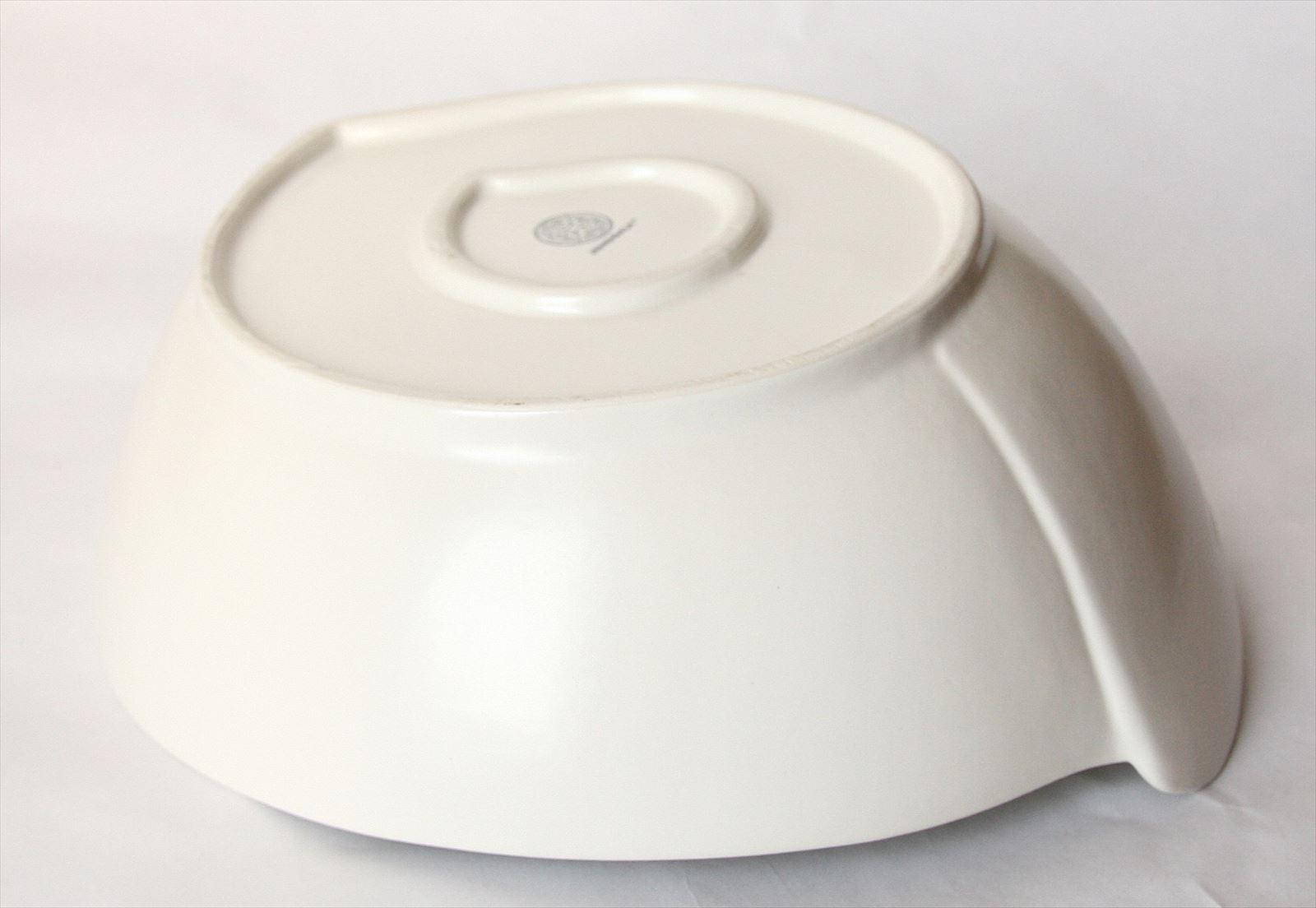 ◆リーフサラダボウル ホワイト◆(アジアン食器・洋食器・卓上テーブルアイテム・バリプレミアム)