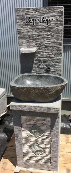 バリ島製 ガーデンシンクSET 洗面ボウル付き