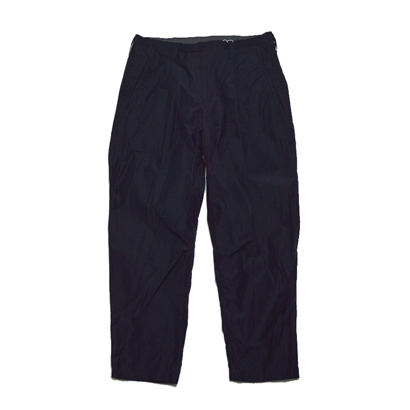 【50%OFF】Tim. ティム 7103-0204 テーパードパンツ N/C paper cloth super tapared pant ダークネイビー