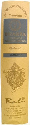 BHAKTA AROMATIC INCENSE STICKS (incense) 20 with ARABIAN NIGHT