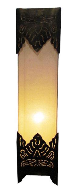 アイアンランプ 四角柱60【バリ・アジアン雑貨バリパラダイス】