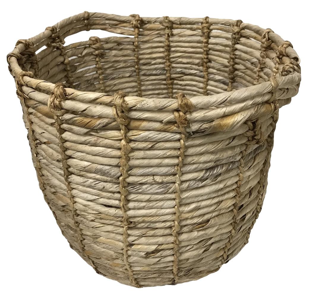 バナナリーフ編みカゴバスケット【バリ・アジアン雑貨バリパラダイス】
