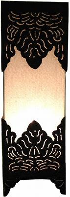 四角柱置き型ランプ 小【バリ・アジアン雑貨バリパラダイス】
