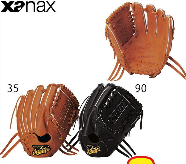 【ザナックス】 硬式グローブ グラブ トラストエックスシリーズ TRUST-X 限定 【硬式投手】 BHG-12815