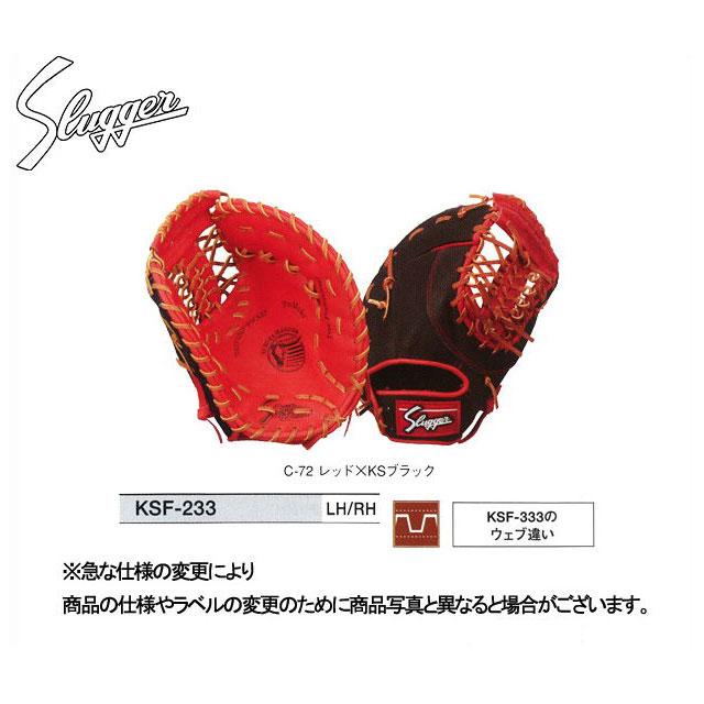 【久保田スラッガー】 軟式ファーストミット 【軟式ファースト】 KSF-233