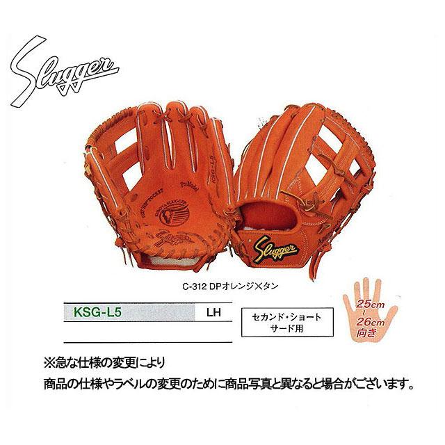 久保田スラッガー 硬式グローブ セカンド・ショート・サード用 グラブ 内野手 KSG-L5