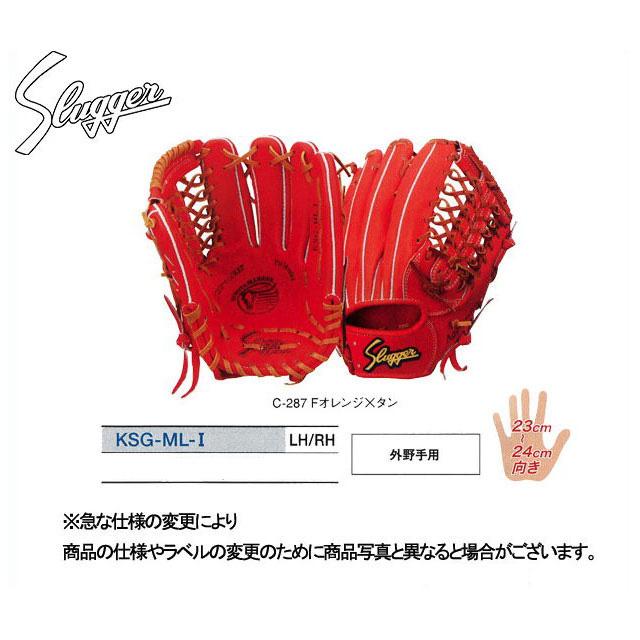 久保田スラッガー 硬式グローブ 外野手用 グラブ KSG-ML-1