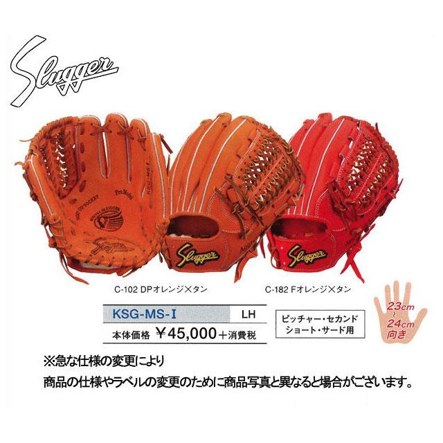 久保田スラッガー 硬式グローブ セカンド・ショート・サード・ピッチャー用 グラブ 内野手用 KSG-MS-1