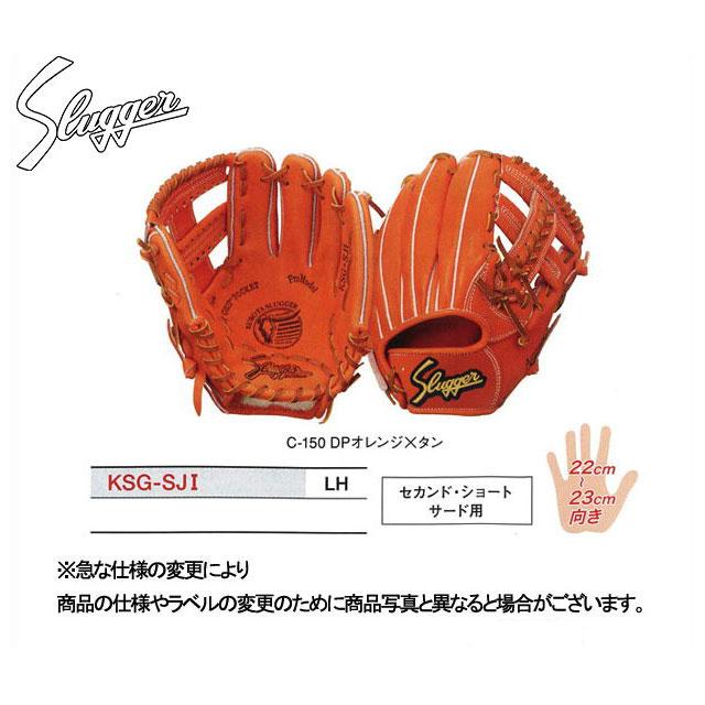 久保田スラッガー 硬式グローブ セカンド・ショート・サード用 グラブ 内野手 KSG-SJ1