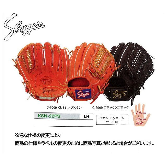 【久保田スラッガー】 軟式グローブ グラブ 【軟式内野手】 KSN-22PS