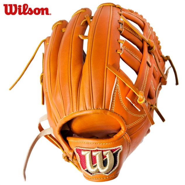【ウィルソン】 硬式グローブ グラブ WILSON STAFF DUAL 【硬式外野手用】 WTAHWQD8D-83