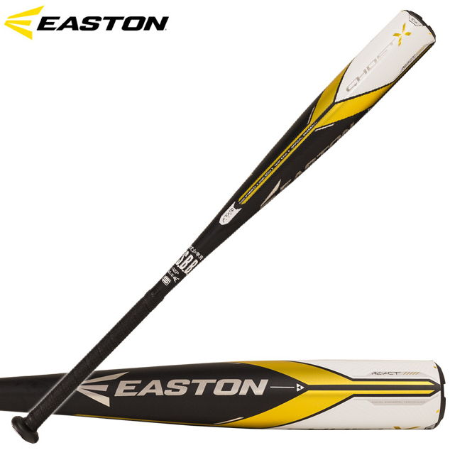 50%OFF! 【イーストン】 少年軟式用バット GHOST X RE-ACT 【EASTON2018】 NY18GHX