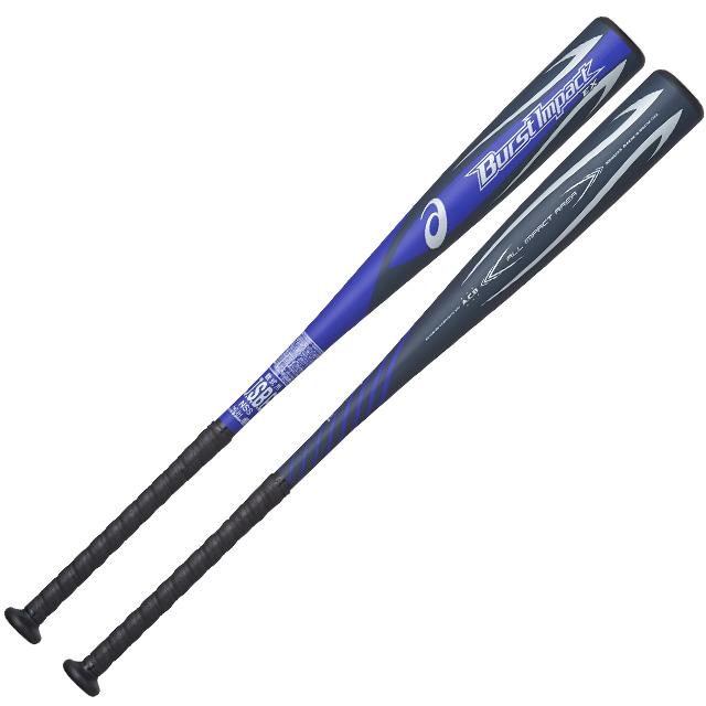 【アシックス】 軟式バット 金属製 バーストインパクトEX トップバランス BURST IMPACT EX 一般 大人 野球 BB4035-400