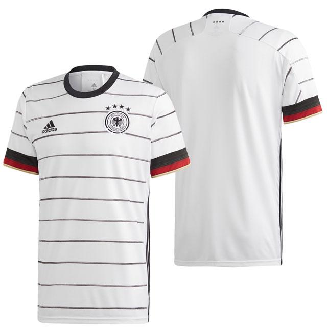 【アディダス】 サッカー ドイツ代表 2020 ホーム レプリカユニフォーム 半袖 ホワイト 【adidas2020SS】 GEY89-EH6105