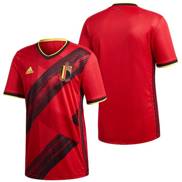 【アディダス】 サッカー ベルギー代表 2020 ホーム ユニフォーム レプリカ 半袖 カレッジレッド 【adidas2020SS】 GHW83-EJ8546