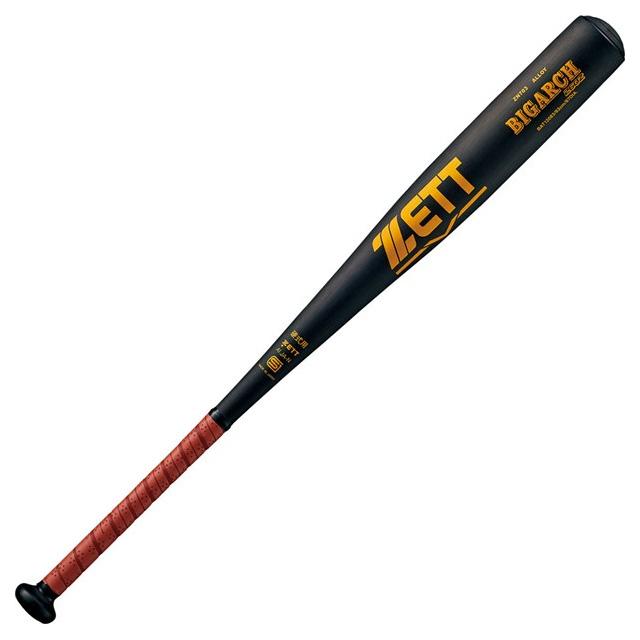 【ZETT/ゼット】 硬式バット 金属製 BIGARCH 260Z ビッグアーチ ミドルバランス 一般 大人 BAT12083-1900