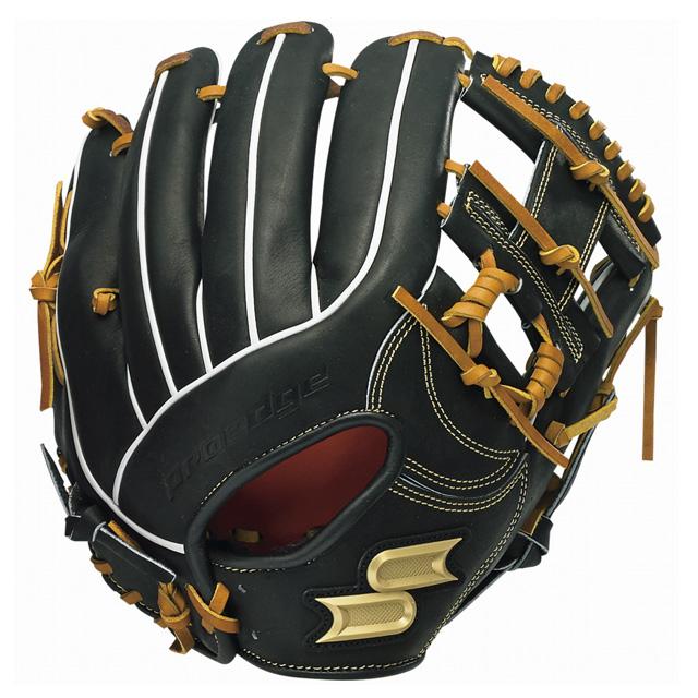 【SSK/エスエスケイ】 野球 軟式グラブ グローブ プロエッジ proedge ブラック 【軟式内野手用】 PENJB20-9047