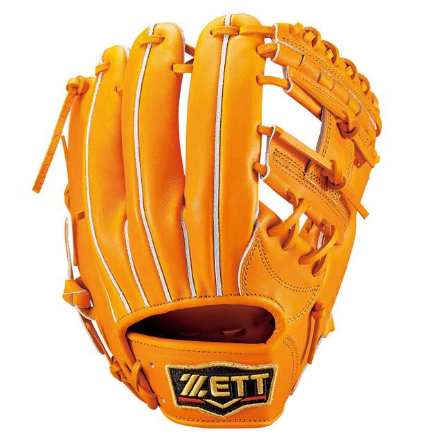 【ZETT/ゼット】 硬式グラブ プロステイタス 二塁手・遊撃手 【硬式内野手用】 ZETT 内野 一般 大人 高校野球 グローブ BPROG441