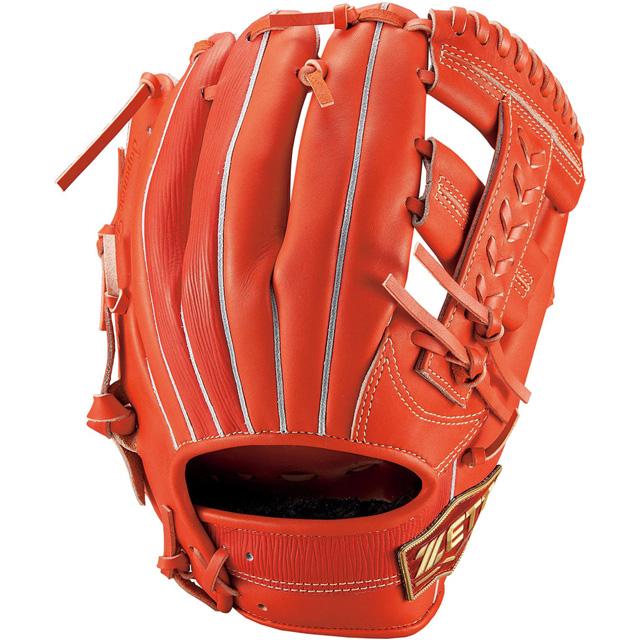 【ZETT/ゼット】 軟式グラブ グローブ サイズ3 ネオステイタス 二塁手 遊撃手 一般 大人 【軟式内野手用】 BRGB31020-5800R