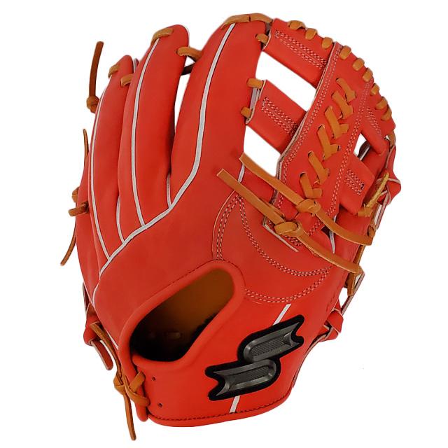 【SSK/エスエスケイ】 限定 硬式グラブ プロエッジオーダー 6S 【硬式内野手用】 SSK 内野 高校野球 562型 一般 大人 グローブ 野球 PEO562AK-3344GRY