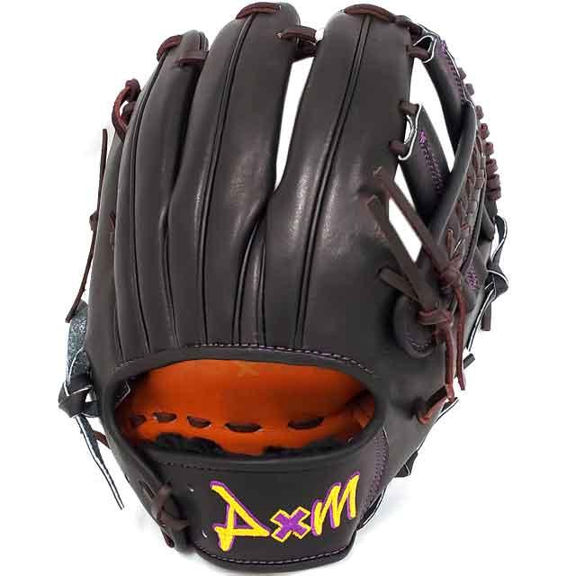 【D×M/ディーバイエム】 硬式グラブ Basic series スポサクオリジナルオーダー グローブ 野球 一般 大人 高校野球 限定 【硬式内野手用】 U300-ORDER-BKPL
