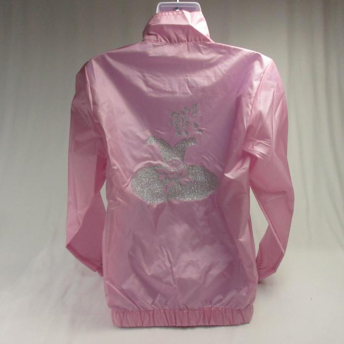 バレエ ウエア,ピンク色キラキラチュチュ,ジャケット,ブルゾン,ウォームアップウエア,バレエ用品
