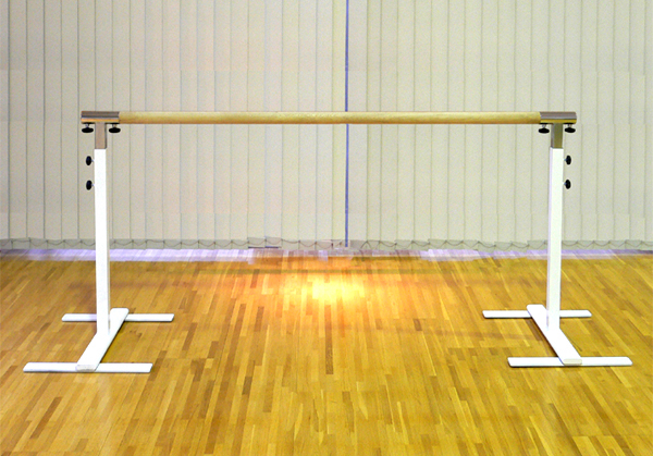 バレエレッスンバー クリスタルバー プロユース 1連ユニット バー3m CBP-L100,スタジオ,教室,バレエ用品
