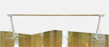 バレエレッスンバー クリスタルバー プロユース1段固定式 バー3mタイプ CBP-L700,スタジオ,教室,バレエ用品