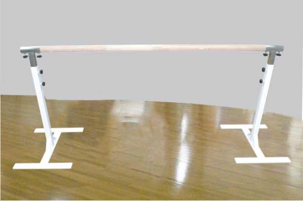 バレエレッスンバー クリスタルバー プロユース フラットタイプ CBP-LF100,スタジオ,教室,バレエ用品