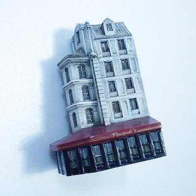 ミニチュアハウス【パリ】GAULT HOUSE-197p6,PARIS,ゴーハウス,アートオブジェ,ゴーハウス